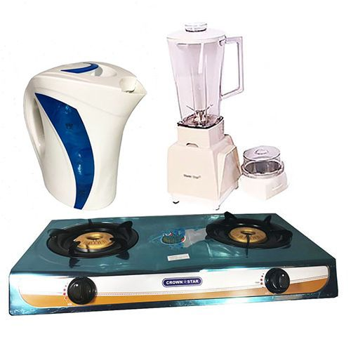 Simple Kitchen Bundle (Gas Stove+Blender+Plastic Jug)