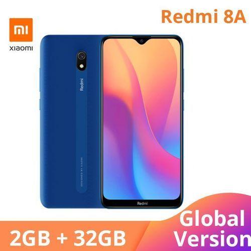 Mi Redmi 8A 2GB RAM+32GB ROM Octa Core Global Version - Blue