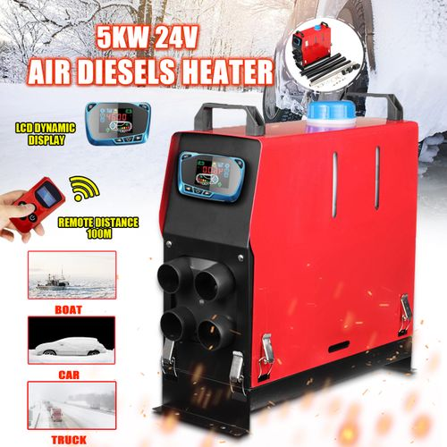 Electric Air Diesel Heater 5KW 24V Car Heater For Trucks Motor-Homes Boat Bus