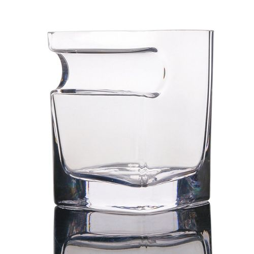 Creative Cigar Glass Whiskey With Holder