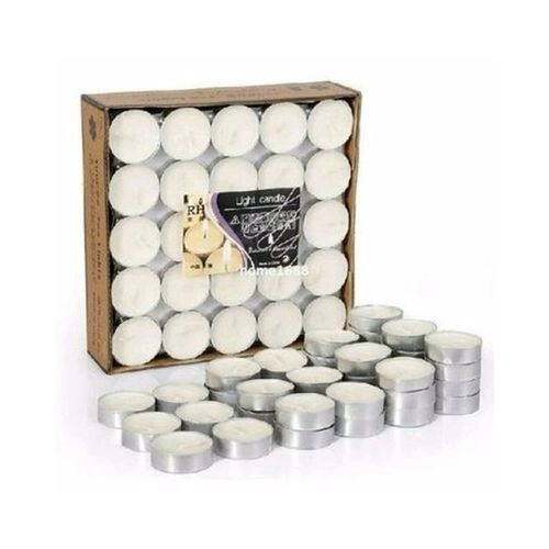 Scented Tealight Candle - 50pcs Set