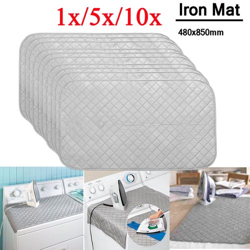 Ironing Mat Compact Ironing Board Travel Dryer Washer Iron