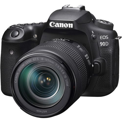 CANON EOS 90D With EF-S 18-55mm