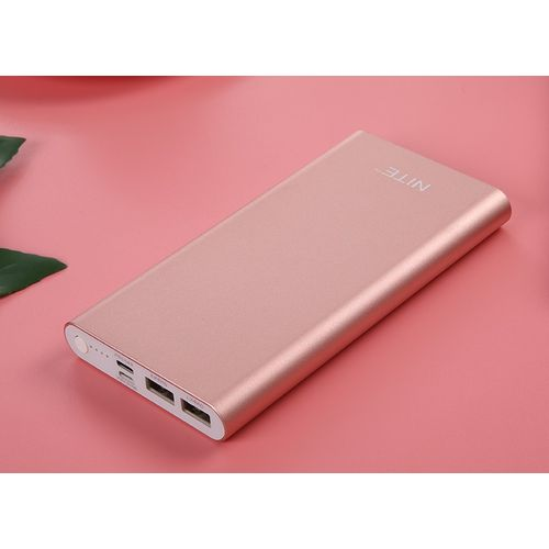 13800mAh Power Bank Dual Port Fast Charge - 8GN - Rose Gold