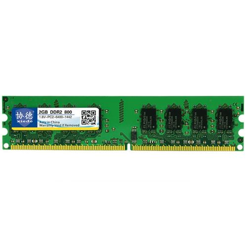 XIEDE X013 DDR2 800MHz 2GB General Full Compatibility Memory RAM Module For Desktop PC