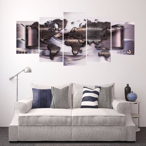 5pcs Landscape Painting Canvas Print Wall Art Picture
