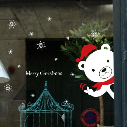 Christmas Snowman Removable Home Vinyl Window Wall Stickers Decal Decor