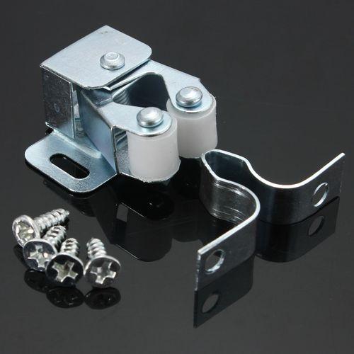 1-10 Pcs Catch Cupboard Cabinet Furniture Magnetic Catch Stopper Roller Latch