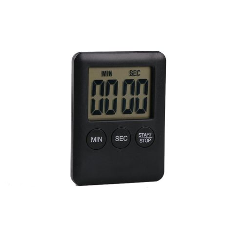 Watermalend Digital Timer Reminder Alarm LCD Cooking Clock Kitchen Large Count-Down Up Loud