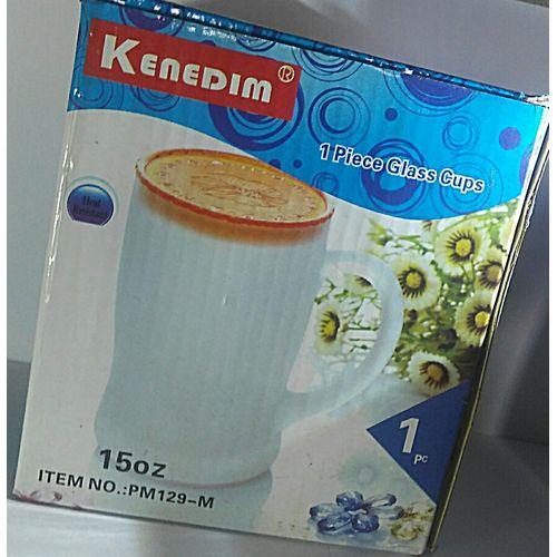KENEDIM 1 PIECE GLASS CUPS