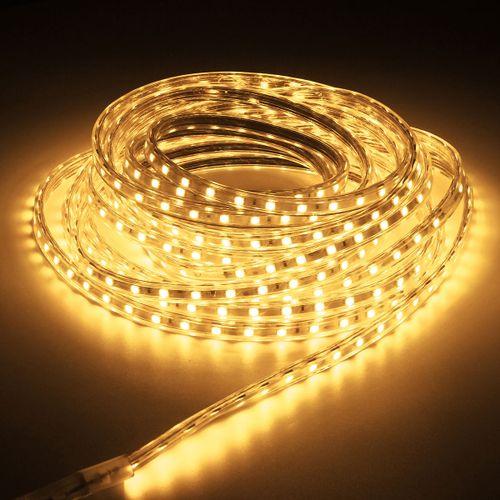 8m LED Strip Light 60leds/m Flexible Tape Rope Light Waterproof 220V