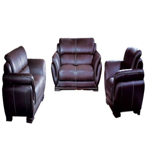 Complete Animal Skin Leather Sofa Set _1102#
