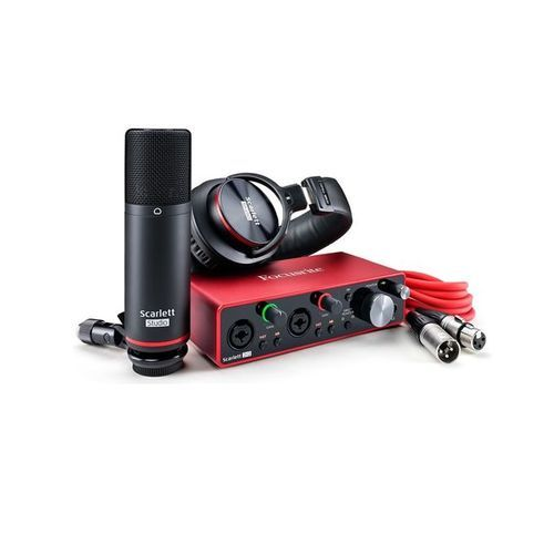 Scarlett 2i2 Studio (3rd Gen) USB Audio Interface And Recording Bundle