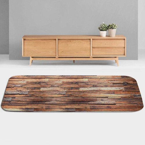 New Polyester Non-slip Door Mat Foot Pad Home Kitchen Bathroom Living Room Bedside Table