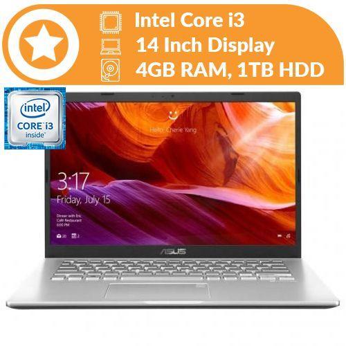 X409UA Intel Core I3 4GB RAM 1TB HDD 14-inch HDD Windows 10
