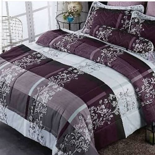 Bedsheet With 4 Pillow Cases And Duvet