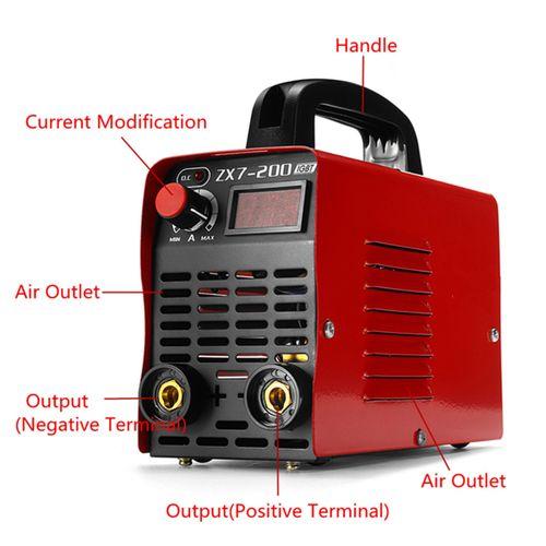220V 10-200A 4000W Handheld MMA IGBT Inverter Electric ARC Welding Machine Tool