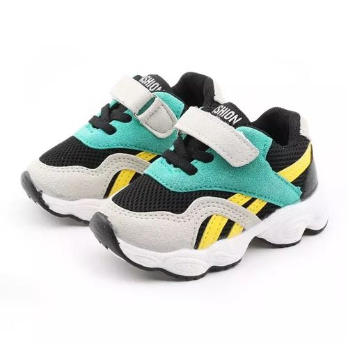 Baby First-Walking Shoes Boys Girls Canvas Sneakers