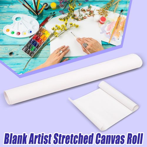 Artist Blank Canvas Roll Paint Cotton ART Drawing Crafts