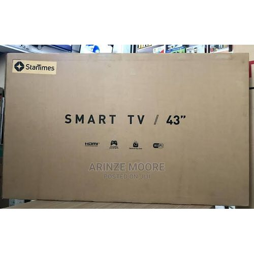 43 Inches Startimes Smart Tv