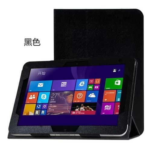 "For Hp Elitepad 900 G1 1000 G2 10.1"" Tablet Pc Silk-Black"