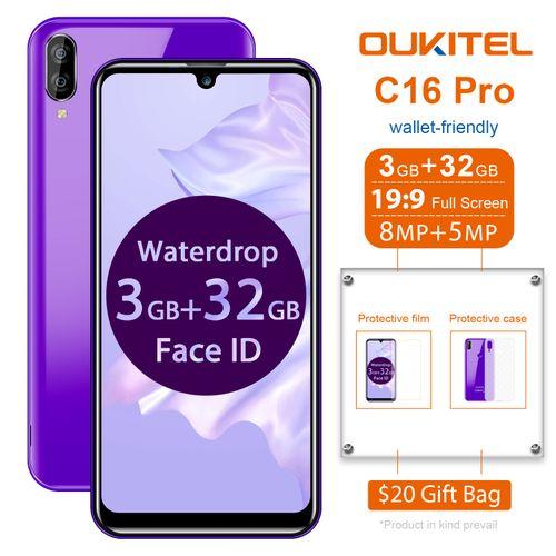"C16 Pro 5.72"" 3GB 32GB 4G 8MP+2MP 2600mAh Fingerprint EU - Purple"