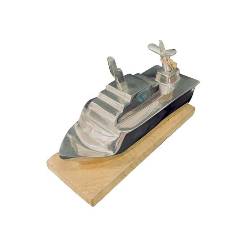 Stainless Steel Cruise Sailing Ship Decor