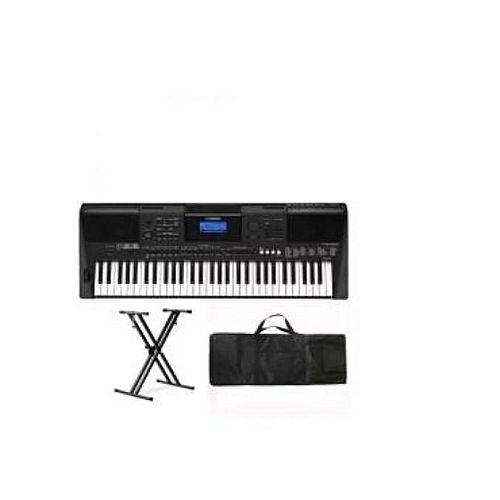 PSR E463 Yamaha Keyboard With Keyboard Stand,Adapter & Bag