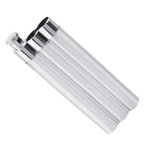 Cigar Case Humidor Tube Stainless Steel Three Tubes Cigar Holder For Carry Use