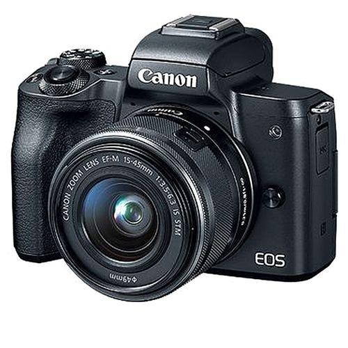 EOS M50 EF-M Digital Multi Lens Adapter Camera +15-45mm IS STM Kit