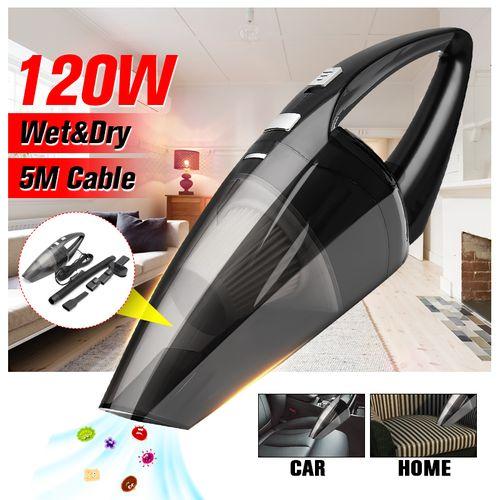 Portable Vehicle Car Handheld Vacuum Dirt Cleaner Black