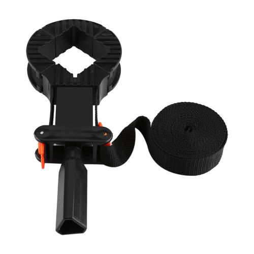Multi-function Adjustable Corner Clamp Band Strap 4 Jaws Picture Frame Holder Woodworking Tool