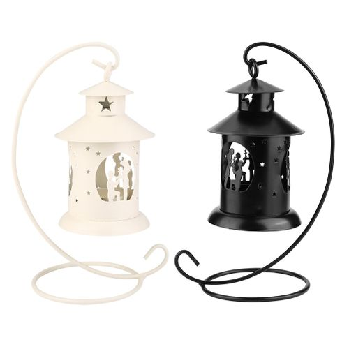 Candle Holder European Style Hollow Light Candle Holder Wedding Table Decor Gift