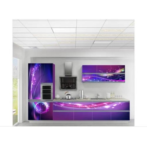Customized 3d Kitchen Cabinets Set