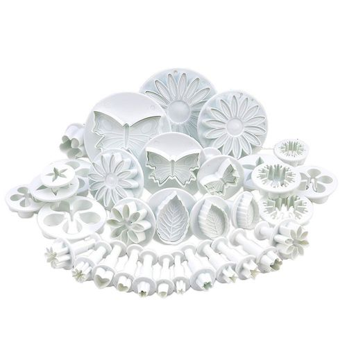 Baking Mold 33 Piece Set Household Embossed Pattern Tools