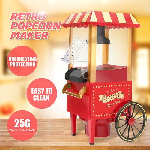 Kitchen Electric Pop Corn Popper Popcorn Maker Cooker Machine Xmas Gift
