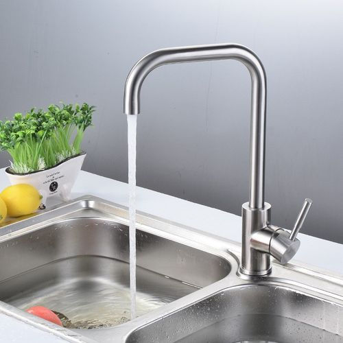 Stainless Steel Kitchen Faucet Hot And Cold Sink Faucet