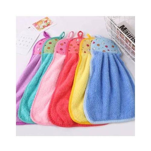 Fancy Soft Kitchen Hand Towel - 6 Pieces
