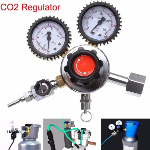 Accessories Durable CO2 Regulator Carbon Dioxide For House Home Beer Brew Professional Quality Bar