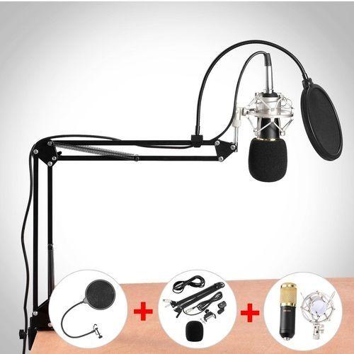 BM800 Condenser Microphone Kit Studio Dynamic System Mount Boom Stand Sound Card