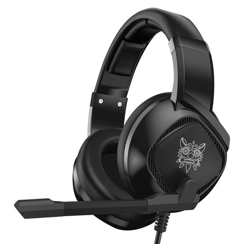 K19 Gaming Headsets Noise Cancellation-Black