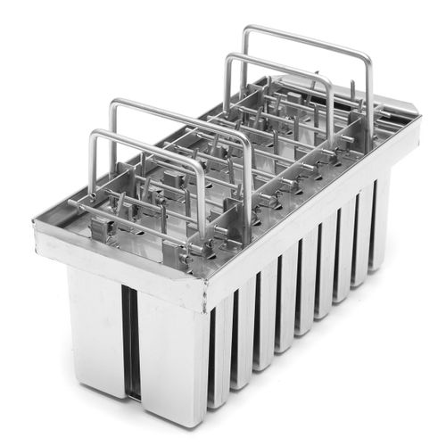 20pcs Stainless Steel Ice Cream Sticks Mold Ice Lolly Popsicle Mold Holder