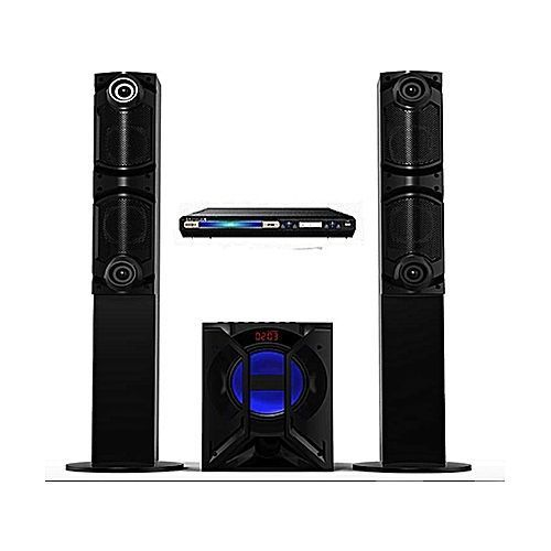Powerful Home Theater DJ-664 With DVD Player