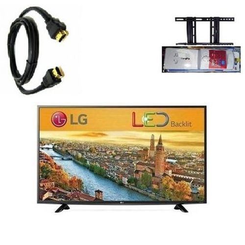 32 Inches TV + Wall Bracket + Power Surge & HDMI Cable
