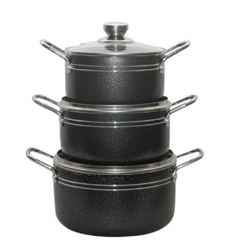 MASTERCHEF Non Stick Pots -3Pcs