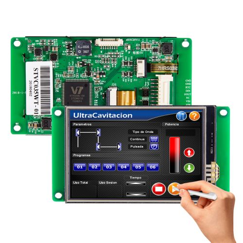 """STONE 3.5"""" 320*480 TFT LCD Display With Serial Interfaces"""