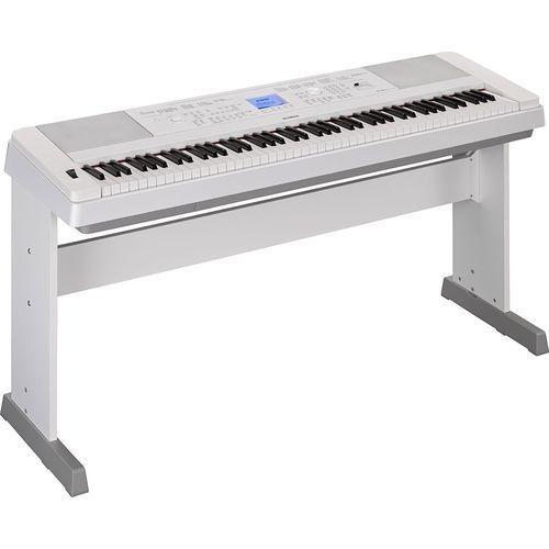 Yamaha DGX660 Digital Piano - White