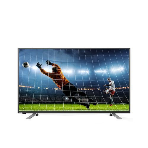 Smart LED TV 43 Inch Full HD With Android System, Built-In Receiver, 3 HDMI, 2 USB Inputs And Wall Bracket (3 Years Warranty)