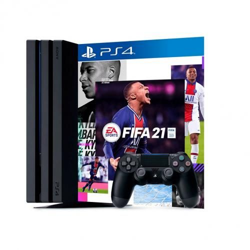 Play Station 4 Pro Console (1TB) + FIFA 20