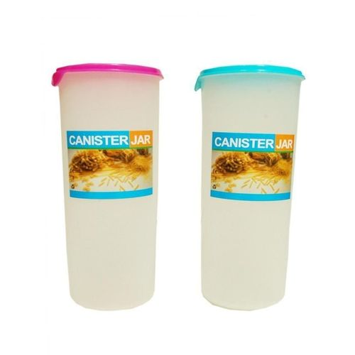 Double Cereal/Pasta Canister Container